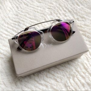 DIOR So Real Style Pink Mirrored Sunglasses
